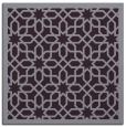 rug #1132027 | square purple rug