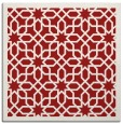 rug #1132039   square red borders rug