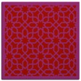 rug #1132043   square red borders rug