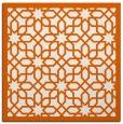 rug #1132059 | square red-orange borders rug