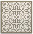 rug #1132087 | square beige borders rug