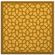 rug #1132103 | square yellow borders rug