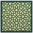 rug #1132107 | square yellow rug