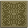 rug #1132123 | square light-green popular rug