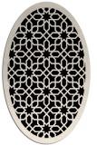 rug #1132204 | oval borders rug