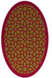 rug #1132265 | oval borders rug