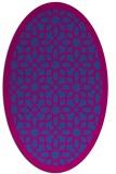rug #1132341 | oval borders rug