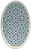 rug #1132452 | oval geometry rug