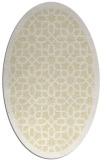 rug #1132463 | oval white borders rug