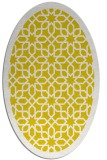 rug #1132467 | oval white borders rug