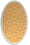 rug #1132507 | oval white borders rug