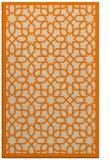 rug #1132511 |  orange borders rug