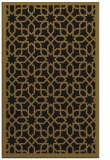 rug #1132531 |  mid-brown borders rug