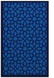 rug #1132543 |  blue geometry rug