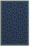 rug #1132551 |  blue borders rug