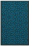 rug #1132575 |  blue borders rug