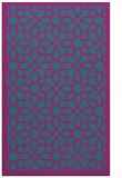 rug #1132591 |  blue-green geometry rug