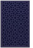 rug #1132595 |  blue-violet borders rug