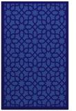rug #1132611 |  blue-violet geometry rug
