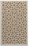 rug #1132667 |  mid-brown borders rug