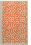 rug #1132727    orange borders rug