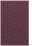 rug #1132751 |  purple borders rug