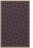 rug #1132759 |  purple geometry rug
