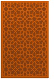 rug #1132791 |  red-orange geometry rug