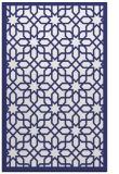 rug #1132807 |  blue borders rug