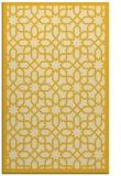 rug #1132827 |  yellow borders rug
