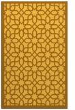 rug #1132839 |  yellow borders rug