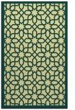 rug #1132843 |  blue-green borders rug