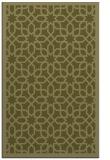 rug #1132859 |  light-green borders rug