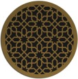 rug #1132899 | round mid-brown popular rug