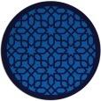 rug #1132911 | round blue borders rug