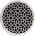 rug #1132940 | round borders rug