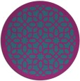 rug #1132959 | round pink borders rug