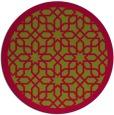 rug #1133001 | round geometry rug