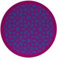 rug #1133077 | round borders rug