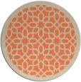 rug #1133095 | round beige borders rug