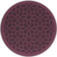 rug #1133119 | round purple borders rug