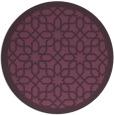 rug #1133120 | round borders rug