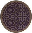 rug #1133127 | round purple borders rug