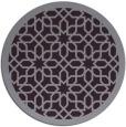 rug #1133131 | round purple borders rug