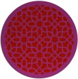rug #1133147 | round red borders rug