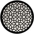 rug #1133167 | round white borders rug