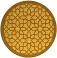 rug #1133207 | round light-orange borders rug