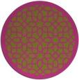 rug #1133223 | round pink borders rug