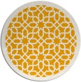 rug #1133231 | round light-orange borders rug
