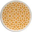 rug #1133243 | round white borders rug